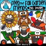 Feed the Fall Garden Friends PNG Clip Art Set
