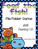 Feed the Fish Counting 1-20 Numbers File Folder Game Kindergarten