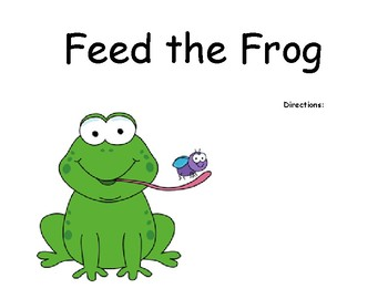 Feed the Frog - A Sight Word Game