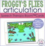 Feed the Frog Articulation BOOM Cards™  | Speech Therapy