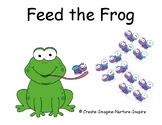 Feed the Frog Sight Word Game