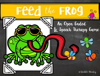 Feed the Frog - Speech Therapy Articulation Game