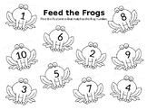 Feed the Frogs Domino Math Match