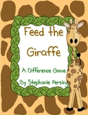 Feed the Giraffe- A Difference Math Game