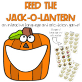 Feed the Jack-O-Lantern // Halloween Speech Therapy // Mix