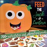 Articulation Feed the Jack-o-Lantern {700+ Artic & Phonology Cards!)