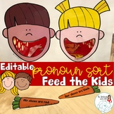 Feed the Kids: Pronoun Sorting Activity