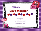 Love Monster: A Valentine's Speech and Language Packet