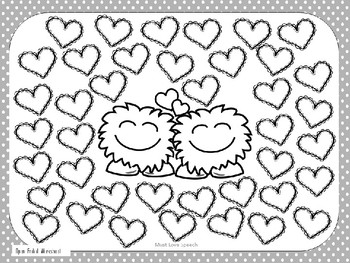 Feed the Love Monster! A Spatial Concepts FREEBIE!