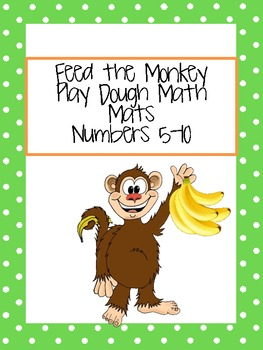 Feed the Monkey: Play Dough Mats