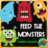 Feed the Monster - A Feelings Identification Activity - Available in Spanish