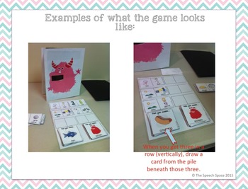 Feed the Monster!  A Game for Apraxia & Final Consonant Deletion