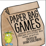Paper Bag Games: Feed the Monster!