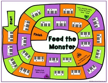 Feed the Monster Interval and Rhythm BUNDLE