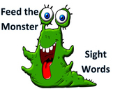 High Frequency Words: Feed the Monster  Centers - VIPKID L