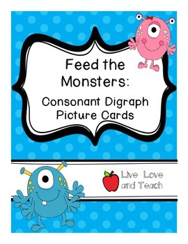Feed the Monsters Consonant Digraphs