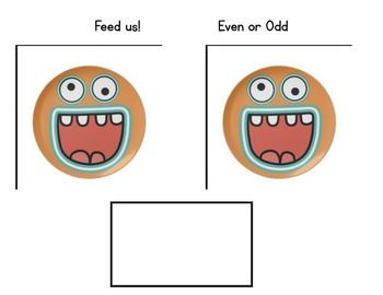 Feed the Monsters Even and Odd