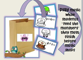"Addition ""Feed the Monsters"" Game"