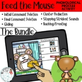 Feed the Mouse: Phonological Process Boom Card Distance Le