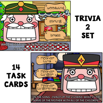 Feed the Nutcracker (Trivia 2) - Boom Digital Task Cards