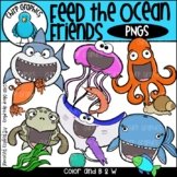 Feed the Ocean Friends PNG Clip Art Set - Chirp Graphics