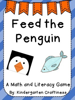 Feed the Penguin: Math and Literacy Game