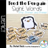 Feed the Penguin Sight Word Game