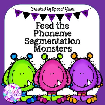 Feed the Phoneme Segmentation Monster