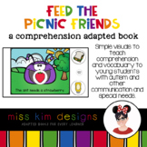Feed the Picnic Friends A Comprehension Adapted Book