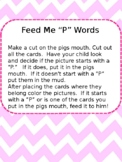 Feed the Pig P words