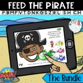 Feed the Pirate: Articulation Boom Card Distance Learning