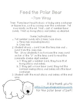 Feed the Polar Bear (Base 10 Game)