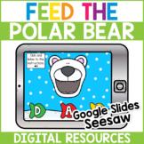 Feed the Polar Bear Uppercase Letters - BOOM CARDS   GOOGL