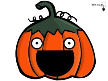 Feed the Pumpkin.. Multi-syllabic Words!
