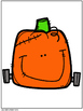 Feed the Pumpkin Vocabulary And Pronoun Activity