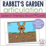 Feed the Rabbit Articulation BOOM Cards™  | Speech Therapy