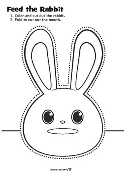 Feed the Rabbit Craft