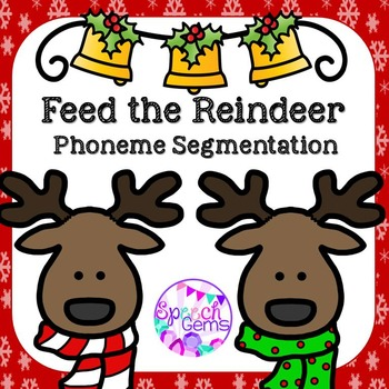 Phoneme Segmentation Activity for Christmas