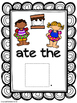 Feed the S'more Vocabulary and Pronoun Activity