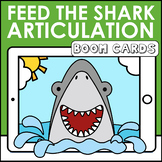 Feed the Shark Articulation Boom Cards | Speech Therapy