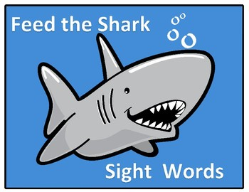 Feed the Shark Center - Sight Words - Level 2 (old) VIPKID