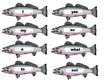 Feed the Shark Center - Sight Words - VIPKID Level 2 interactive