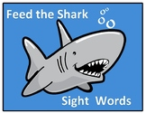 High Frequency Words: Feed the Shark Center - VIPKID Level