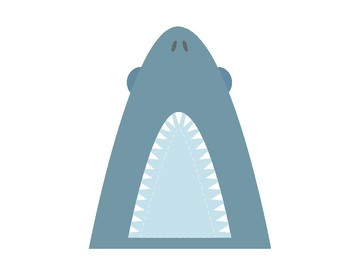 Feed the Shark Printable