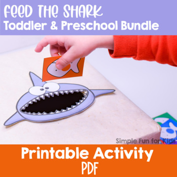 Feed the Shark Toddler & Preschool Bundle