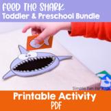 Feed the Shark Toddler & Preschool Bundle