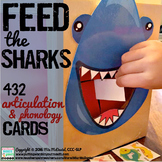 Articulation Activity- Feed the Sharks! {432 Artic and Phonology Cards}