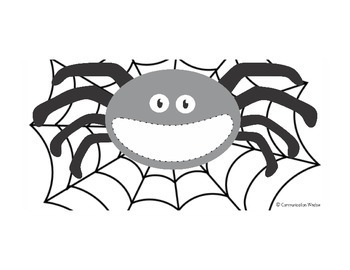 Feed the Spider - Apraxia and Phonology - Free Preview and Spider Template