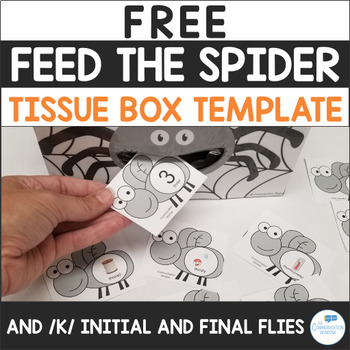 Feed the Spider - Apraxia and Phonology - Free Preview and