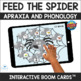 Feed the Spider Articulation - Apraxia and Phonology - Game and Smash Mats